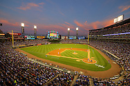 CHICAGO - JULY 25:  (EDITORS NOTE: This image has been digitally enhanced for aesthetic purposes).  A general view of U.S. Cellular Field as 39,510 fans watch the Chicago White Sox play the Chicago Cubs on July 25, 2016 at U.S. Cellular Field in Chicago, Illinois.  (Photo by Ron Vesely)