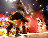 Traditional dancers perform in the Day of the Dead celebrations in Los Angeles on Monday, Nov. 1, 2016.(Photo by Ringo Chiu/PHOTOFORMULA.com)<br /> <br /> Usage Notes: This content is intended for editorial use only. For other uses, additional clearances may be required.