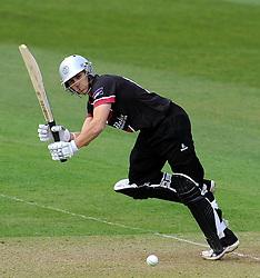Somerset's James Regan - Photo mandatory by-line: Harry Trump/JMP - Mobile: 07966 386802 - 30/03/15 - SPORT - CRICKET - Pre Season Fixture - T20 - Somerset v Gloucestershire - The County Ground, Somerset, England.