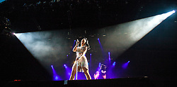 Katy Perry headlines Sunday night on the main stage, at BBC Radio 1's Big Weekend Glasgow 2014.