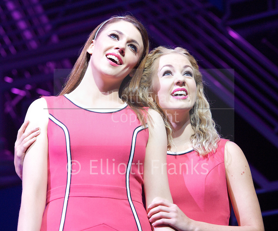Loserville<br /> by Elliot Davis and James Bourne<br /> at The Garrick Theatre, London, Great Britain <br /> press photocall <br /> 11th October 2012 <br /> <br /> Charlotte Harwood <br /> Lauren Hall<br /> <br /> Photograph by Elliott Franks<br /> <br /> Tel 07802 537 220 <br /> elliott@elliottfranks.com<br /> <br /> 2012&copy;Elliott Franks<br /> Agency space rates apply