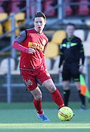 FODBOLD: Mathias Rasmussen (FC Nordsjælland) under træningskampen mellem FC Nordsjælland og FC Helsingør den 20. januar 2017 i Farum Park. Foto: Claus Birch