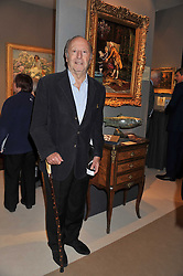 EDGAR ASTAIRE at a preview evening of the annual London LAPADA (The Association of Art & Antiques Dealers) antiques Fair held in Berkeley Square, London on 20th September 2011.