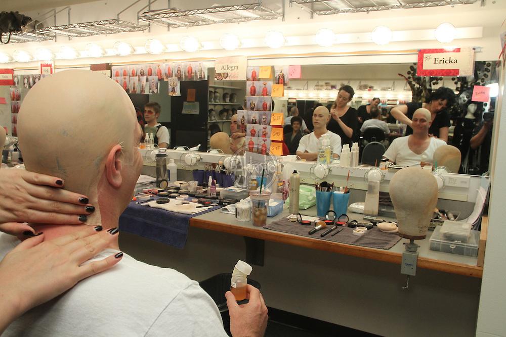 Turandot hair and makeup  Ping, Pang, Pong assistants.