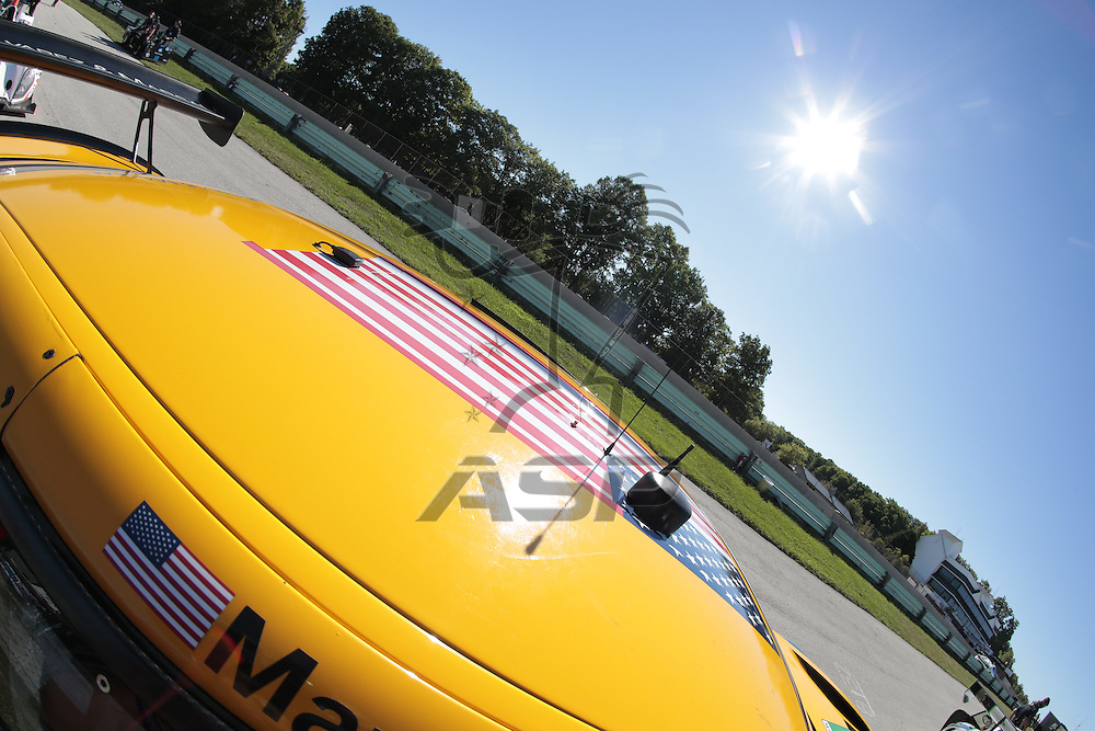 Elkhart Lake, WI - Aug 06, 2016:  The IMSA WeatherTech SportsCar Championship teams take to the track for a practice session for the Continental Tire Road Race Showcase at Road America in Elkhart Lake, WI.