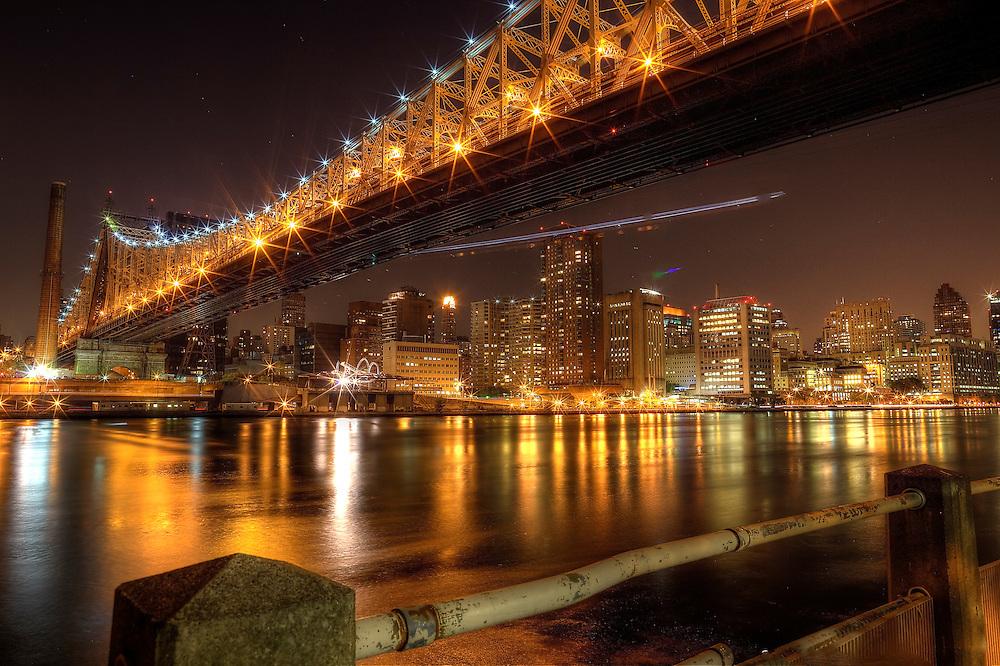 Ed Koch Memorial Bridge/59th Street Bridge New York City HDR Photography
