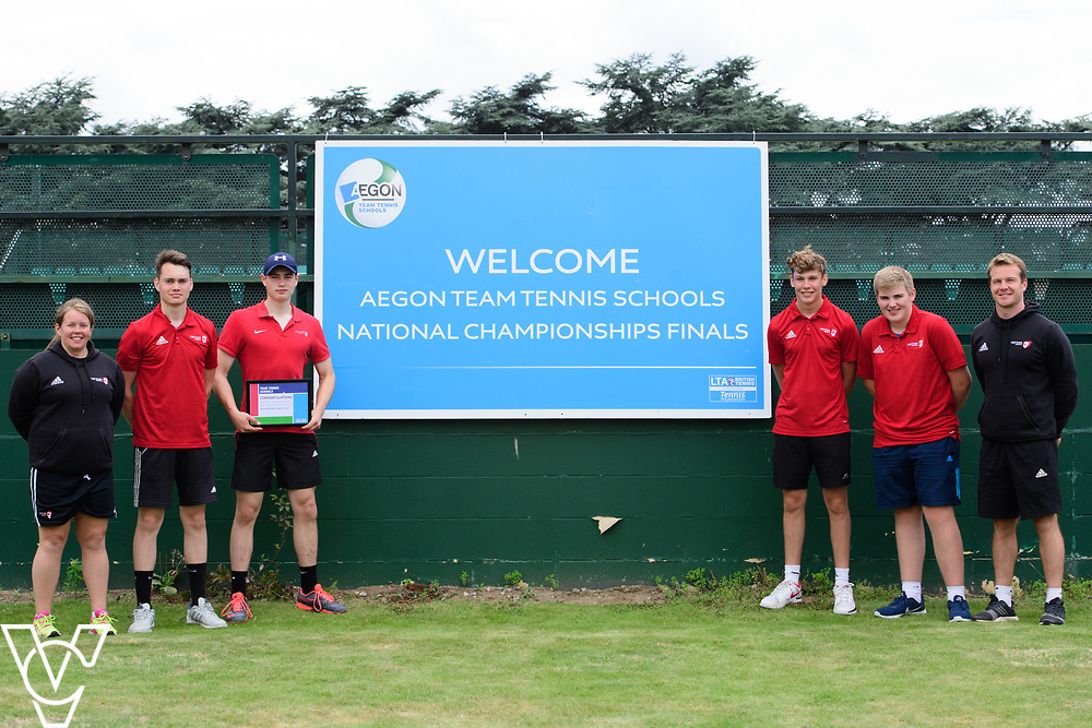 Hall Cross Academy<br /> <br /> Team Tennis Schools National Championships Finals 2017 held at Nottingham Tennis Centre.  <br /> <br /> Picture: Chris Vaughan Photography for the LTA<br /> Date: July 14, 2017
