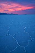 North America, American, USA, Great Basin, Utah, Bonneville Salt Flats, Salt lake