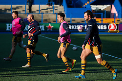 Jack Wallace of Bristol Rugby warms up - Rogan Thomson/JMP - 21/01/2017 - RUGBY UNION - Cardiff Arms Park - Cardiff, Wales - Cardiff Blues v Bristol Rugby - EPCR Challenge Cup.