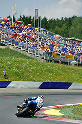 01.07.2012, Red Bull Ring, Spielberg, AUT, IDM Red Bull Ring, Renntag, im Bild Martin Bauer, (AUT, Superbike, #1, 4. Platz) // during the IDM race day on the Red Bull Circuit in Spielberg, 2012/07/01, EXPA Pictures © 2012, PhotoCredit: EXPA/ S. Zangrando