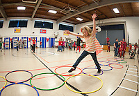 Gilford Elementary School Jump for Heart event February 13, 2013.  Karen Bobotas/for the Laconia Daily Sun