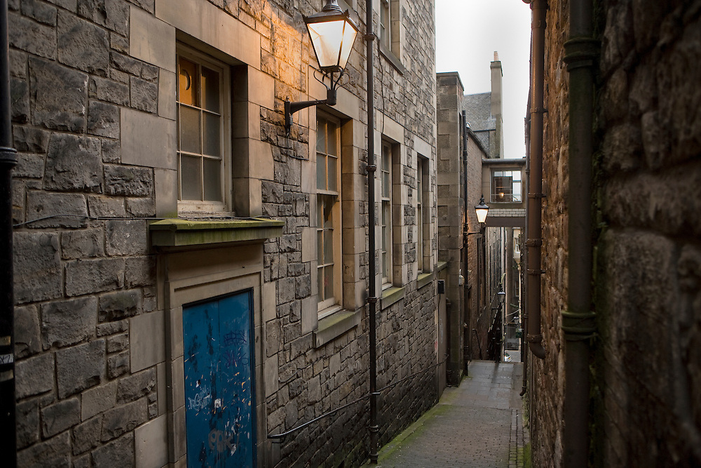 Mary King's Close, Old Town. Edinburgh, Scotland, UK