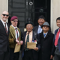 London: Gurkha veterans rally for justice on Downing Street