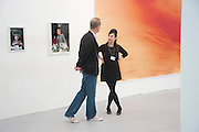 MAUREEN PALEY, Opening of Frieze 2009. Regent's Park. London. 14 October 2009 *** Local Caption *** -DO NOT ARCHIVE-© Copyright Photograph by Dafydd Jones. 248 Clapham Rd. London SW9 0PZ. Tel 0207 820 0771. www.dafjones.com.<br /> MAUREEN PALEY, Opening of Frieze 2009. Regent's Park. London. 14 October 2009