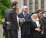 "BARRY GIBB AND FAMILY AT ROBIN GIBB'S FUNERAL.Robin who died after a lon-running battle with cancer aged 62, was buried at St. mary's Church , Thame, Oxfordshire..Brother Barry Gibb,65, the last surviving member of the Bee Gees was joined by family members for the funeral service..Celebrity guests who attended the funeral included Peter Andre, Tim Rice, Susan George and Leslie Phillips_08/06/2012.Mandatory Credit Photo: ©NEWSPIX INTERNATIONAL..**ALL FEES PAYABLE TO: ""NEWSPIX INTERNATIONAL""**..IMMEDIATE CONFIRMATION OF USAGE REQUIRED:.Newspix International, 31 Chinnery Hill, Bishop's Stortford, ENGLAND CM23 3PS.Tel:+441279 324672  ; Fax: +441279656877.Mobile:  07775681153.e-mail: info@newspixinternational.co.uk"
