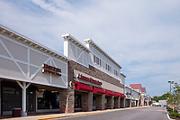 Exterior photo of Timonium Square Shopping Center renovated by Mullan Contracting Company.
