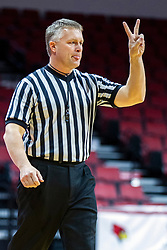NORMAL, IL - November 30:  Andrew Bills during a college women's basketball game between the ISU Redbirds and the Skyhawks of UT-Martin November 30 2019 at Redbird Arena in Normal, IL. (Photo by Alan Look)