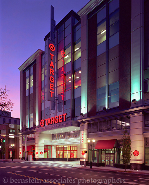 Target retail shopping center in Stamford, CT