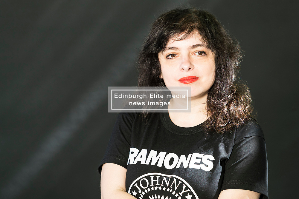 Mariana Enriquez appearing at the Edinburgh International Book Festival<br /> <br /> Mariana Enriquez works as a journalist and is the deputy editor of the arts and culture section of the newspaper Página/12. She has published the novels: Bajar es lo peor (Espasa Calpe, 1995) and Cómo desaparecer completamente(Emecé, 2004). She has also written the short story books: Los peligros de fumar en la cama (Emecé, 2009) and the novelette Chicos que vuelven (Eduvim, 2010). Her stories have appeared in anthologies of Spain, Mexico, Chile, Bolivia and Germany.