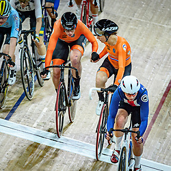 WILD Kirsten - PIETERS Amy ( NED ) – Netherlands – Querformat - quer - horizontal - Landscape - Event/Veranstaltung: UCI Track Cycling World Championships 2020 – Track Cycling - World Championships - Berlin - Category/Kategorie: Cycling - Track Cycling – World Championships - Elite Women - Location/Ort: Europe – Germany - Berlin - Velodrom Berlin - Discipline: Madison - Distance: 30 km - Date/Datum: 29.02.2020 – Sunday – Day 4 - Photographer: © Arne Mill - frontalvision.com
