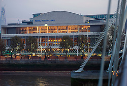 UK ENGLAND LONDON 20NOV11 - The Royal Festival Hall in central London.....jre/Photo by Jiri Rezac....© Jiri Rezac 2011