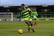 Forest Green Rovers Isaiah Osbourne(34) during the EFL Sky Bet League 2 match between Forest Green Rovers and Port Vale at the New Lawn, Forest Green, United Kingdom on 6 January 2018. Photo by Shane Healey.