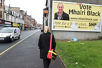 Mhairi Black, SNP candidate for Paisley and Renfrewshire South, Scotland.