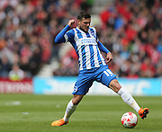 Jake Forster-Caskey during the Sky Bet Championship match between Middlesbrough and Brighton and Hove Albion at the Riverside Stadium, Middlesbrough, England on 2 May 2015.