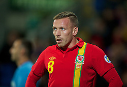 11.10.2013, City Stadion, Cardiff, WAL, FIFA WM Qualifikation, Wales vs Mazedonien, Gruppe A, im Bild Wales' Craig Bellamy during the FIFA World Cup Qualifier Group A Match between Wales and Macedonia at the City Stadium, Cardiff, Wales on 2013/10/11. EXPA Pictures © 2013, PhotoCredit: EXPA/ Propagandaphoto/ David Rawcliffe<br /> <br /> ***** ATTENTION - OUT OF ENG, GBR, UK *****