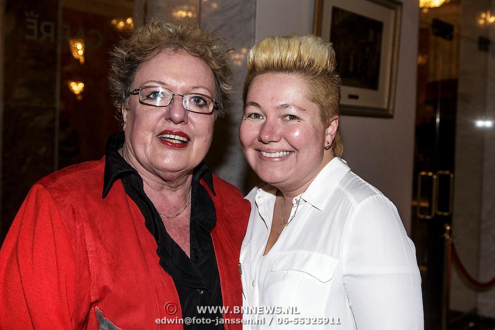 NLD/Amsterdam/20150202 - Willeke Alberti 70 jaar, Astrid Nijgh en partner