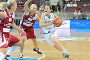 DESCRIZIONE : Riga Latvia Lettonia Eurobasket Women 2009 Semifinal 5th-8th Place Italia Lettonia Italy Latvia<br /> GIOCATORE : Mariangela Cirone<br /> SQUADRA : Italia Italy<br /> EVENTO : Eurobasket Women 2009 Campionati Europei Donne 2009 <br /> GARA : Italia Lettonia Italy Latvia<br /> DATA : 19/06/2009 <br /> CATEGORIA : penetrazione<br /> SPORT : Pallacanestro <br /> AUTORE : Agenzia Ciamillo-Castoria/M.Marchi<br /> Galleria : Eurobasket Women 2009 <br /> Fotonotizia : Riga Latvia Lettonia Eurobasket Women 2009 Semifinal 5th-8th Place Italia Lettonia Italy Latvia<br /> Predefinita :
