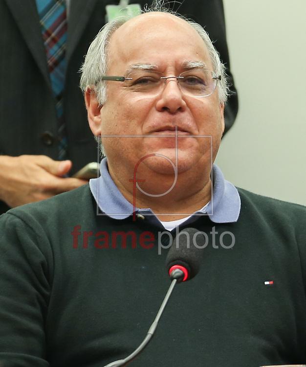 Brasília (DF), 19/03/2015. Renato duque durante depoimento na CPI da petrobras na camara. Foto: Lula Marques/Frame