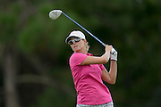 Katy Harris during the first round of the Symetra Tour Championship at LPGA International on Sept. 26, 2013 in Daytona Beach, Florida. <br /> <br /> <br /> ©2013 Scott A. Miller