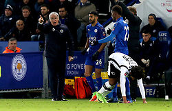 An animated Leicester City manager Claudio Ranieri gives instructions to his players - Mandatory by-line: Robbie Stephenson/JMP - 08/02/2017 - FOOTBALL - King Power Stadium - Leicester, England - Leicester City v Derby County - Emirates FA Cup fourth round replay
