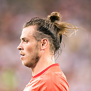 MEADOWLANDS, NEW JERSEY- August 7:  Gareth Bale #11 of Real Madrid during the Real Madrid vs AS Roma International Champions Cup match at MetLife Stadium on August 7, 2018 in Meadowlands, New Jersey. (Photo by Tim Clayton/Corbis via Getty Images)