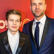 NLD/Amsterdam/20161221 - NOC*NSF Sportgala 2016, Erben Wennemars en zoon