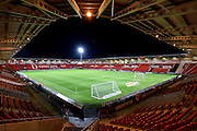Doncaster Rovers pitch before the Sky Bet League 1 match between Doncaster Rovers and Chesterfield at the Keepmoat Stadium, Doncaster, England on 24 November 2015. Photo by Ian Lyall.
