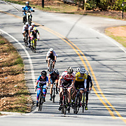 WOODSTOCK, VA - MAR 5: Ben attacks on the penultimate climb of the race,  the road race and final stage of the Tour of the Southern Highlands stage race on Sunday, Mar. 5, 2017 in Woodstock, Ga. This move separated him and three other riders from the remaining racers, and garnered him a 3rd place overall finish against a stacked field of the top talent in the country. (Photo by Jay Westcott/The News & Advance)