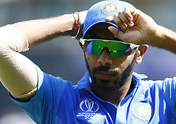 May 25, 2019 - London, England, United Kingdom - Jasprit Bumrah of India.during ICC World Cup - Warm - Up between India and New Zealand at the Oval Stadium , London,  on 25 May 2019. (Credit Image: © Action Foto Sport/NurPhoto via ZUMA Press)