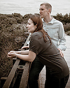 Helen & Glen's Pre-Wedding Photographs at Attenborough Nature Reserve
