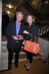 SIR TERENCE & LADY CONRAN at the opeing of Green's Restaurant & Oyster Bar, 14 Cornhill, London EC3 on 1st September 2009.