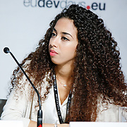 20160616 - Brussels , Belgium - 2016 June 16th - European Development Days - Making sure every child is free from violence - Sana Afouaiz , Young Leader - Ensuring Accountability - A Shared Commitment , Morocco © European Union