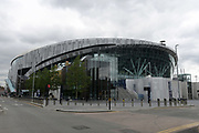Jul 19, 2019; London, United Kingdom; General overall view of Tottenham Hotspur FC Stadium (White Hart Lane Stadium). The facility features a retractable grass field with an artificial surface underneath for NFL games. The Oakland Raiders will play host to the Chicago Bears in the first NFL game in an International Series game on Oct. 6, 2019. Mandatory Credit: Kirby Lee-USA TODAY Sports