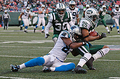 November 29, 2009: Carolina Panthers at New York Jets