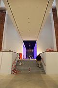 Mannheim. 08.11.17 | Zum Neubau Kunsthalle<br /> Innenstadt. Kunsthalle. Pressegespräch zum Neubau der Neuen Kunsthalle. Die Eröffnung der Neuen Kunsthalle im Dezember nur mit Skulpturen - keine Gemälde wegen technischen Verzögerungen.<br /> <br /> <br /> <br /> <br /> BILD- ID 01547 |<br /> Bild: Markus Prosswitz 08NOV17 / masterpress (Bild ist honorarpflichtig - No Model Release!)