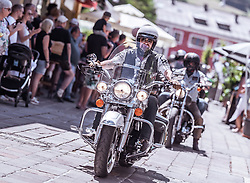 29.06.2019, Schladming, AUT, Rock the Roof 2019, im Bild Motorrad Ausfahrt // Bikes during the Rock the Roof Biker Meeting in Schladming, Austria on 2019/06/29. EXPA Pictures © 2019, PhotoCredit: EXPA/ JFK