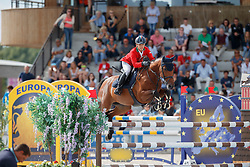 Correddu Lorenzo, ITA, Touche D Arrogance<br /> Children European Championships Jumping <br /> Samorin 2017© Hippo Foto - Dirk Caremans<br /> 12/08/2017
