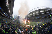 Nov 5, 2017; Seattle, WA, USA; General overall view of CenturyLink Field during an NFL football game between the Washington Redskins and the Seattle Seahawks.