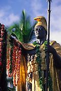 King Kamehameha Statue, Kapa'au, Kohala, Island of Hawaii<br />