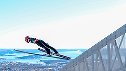 10.03.2017, Holmenkollen, Oslo, NOR, FIS Weltcup Ski Sprung, Raw Air, Oslo, im Bild Sevoie Vincent Descombes (FRA) // Sevoie Vincent Descombes of France // during the 1st Stage of the Raw Air Series of FIS Ski Jumping World Cup at the Holmenkollen in Oslo, Norway on 2017/03/10. EXPA Pictures © 2017, PhotoCredit: EXPA/ Tadeusz Mieczynski